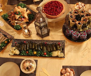 arabic, photography, and food image
