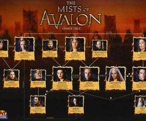 family tree, morgaine, and julianna margulies image