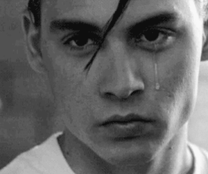 crybaby, johnny depp, and old movie image