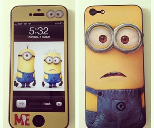 iphone, despicable me, and iphone5 image