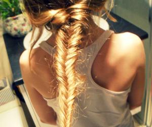 braid, cool, and girl image