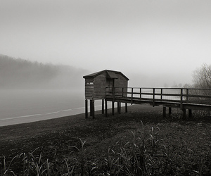 fog, photography, and reservoir image