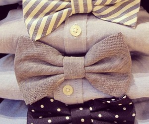 fashion, bow, and shirt image