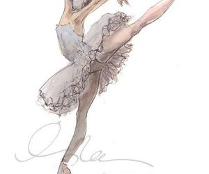 ballet and drawing image