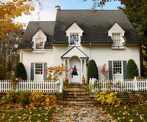 house, autumn, and cute image