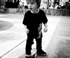 skate, baby, and boy image