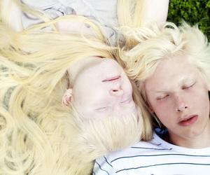 albinos, blonde, and men image