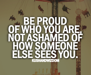 quotes, proud, and be proud image
