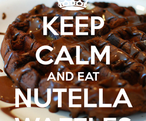 breakfast, delicious, and nutella image