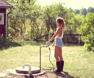 beautiful, blogger, and country side image