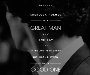 sherlock, benedict cumberbatch, and quote image