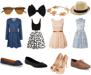 outfits, set, and vestidos image
