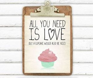 love and cupcake image