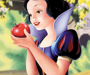 snow white and poison apple image