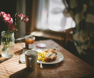 coffee, food, and sunlight image