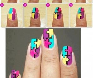 nails, puzzle, and tutorial image