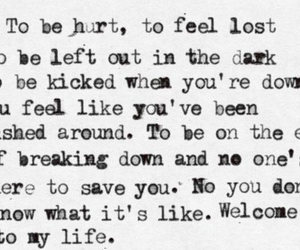 simple plan, welcome to my life, and hurt image