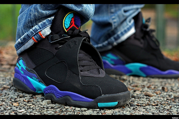 a3407eec861f5e ... spain aqua nike air jordan 8 retro 2013 on we heart it 87371 6823e