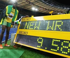 sports, track and field, and usain bolt image