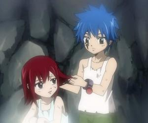 fairy tail, jellal, and erza image