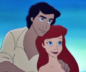 ariel, beautiful, and couple image