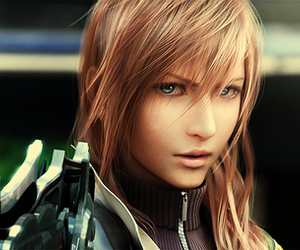 lightning, final fantasy, and game image