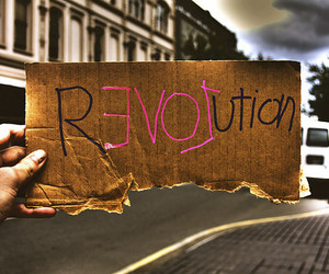 love, revolution, and quotes image