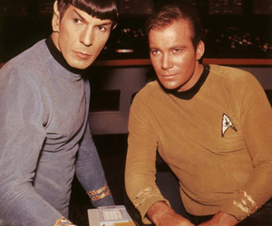 captain kirk, Kirk, and spock image