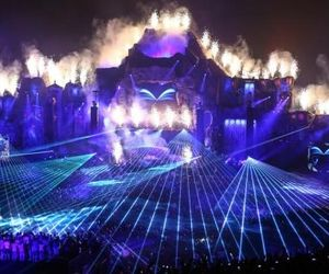 Tomorrowland, party, and light image