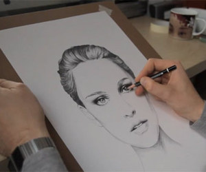 drawing, art, and beautiful image