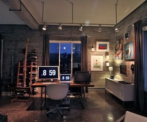 interior and workspace image