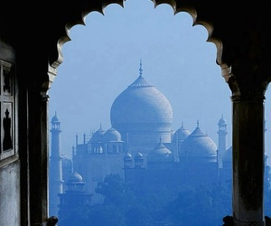 beautiful, india, and taj mahal image