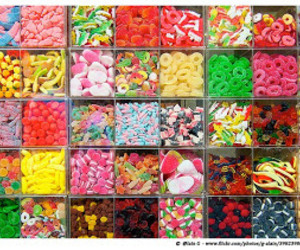 candy, bonbon, and colors image