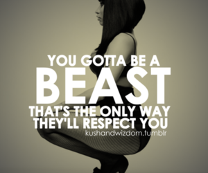 beast, nicki minaj, and quote image