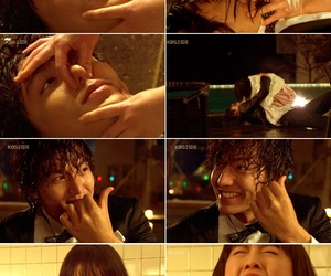 Boys Over Flowers, k-drama, and kiss image
