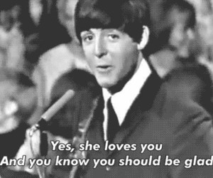 love, Paul McCartney, and quote image