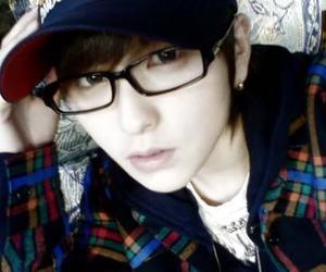 asian, eyeglasses, and fashion image
