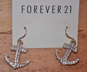 forever 21, anchor, and earrings image
