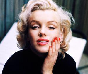 Marilyn Monroe, vintage, and blonde image