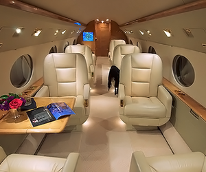 airplane and luxury image