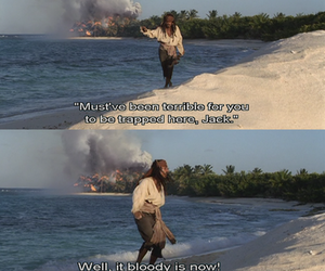 funny, Island, and jack sparrow image