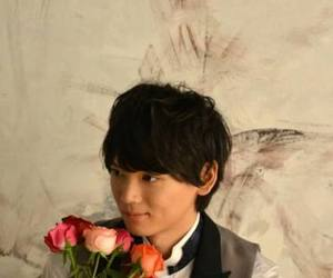 actor, asian, and flowers image