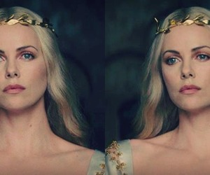 beauty, Charlize Theron, and snow white image