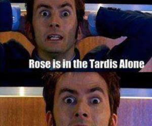 doctor who, david tennant, and Cookies image