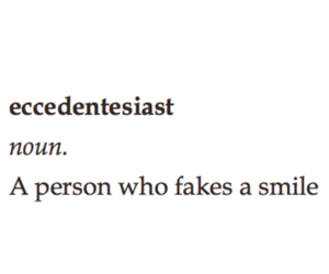 smile, fake, and quotes image