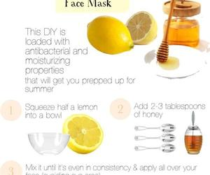 beauty, mask, and honey image