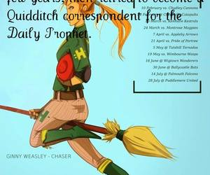 harry potter, quidditch, and daily prophet image