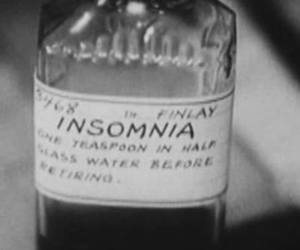 insomnia, black and white, and grunge image