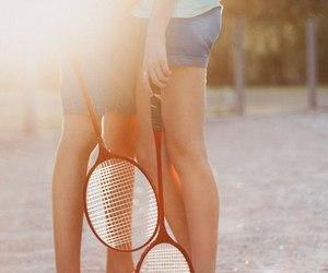 2, badminton, and couple image