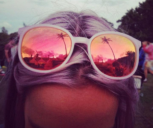 summer, sunglasses, and hair image
